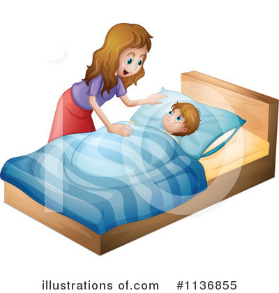 Bed Clipart #1136855 by Graphics RF