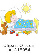 Bed Time Clipart #1315954 by Alex Bannykh
