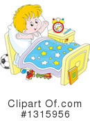 Bed Time Clipart #1315956 by Alex Bannykh