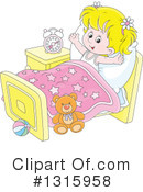 Bed Time Clipart #1315958 by Alex Bannykh