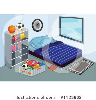 Bed Clipart #1123962 by Graphics RF