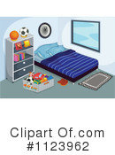 Bedroom Clipart #1123962 by Graphics RF