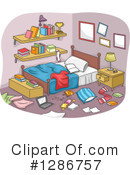 Bedroom Clipart #1286757 by BNP Design Studio