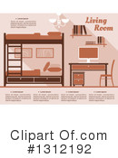 Bedroom Clipart #1312192 by Vector Tradition SM