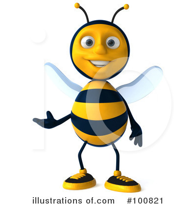 Bee Clipart #100821 by Julos