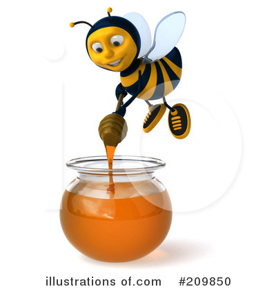 Bee Clipart #209850 by Julos