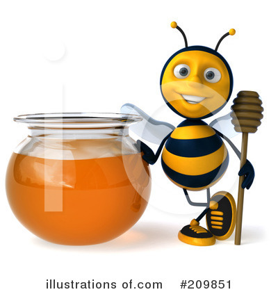 Bee Clipart #209851 by Julos