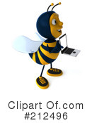 Bee Character Clipart #212496 by Julos