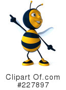 Bee Character Clipart #227897 by Julos