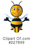 Bee Character Clipart #227899 by Julos