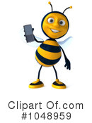 Bee Clipart #1048959 by Julos