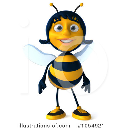 Bee Clipart #1054921 by Julos