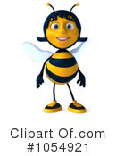 Royalty-Free (RF) Bee Clipart Illustration #1054921