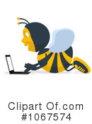 Bee Clipart #1067574 by Julos