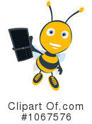 Bee Clipart #1067576 by Julos
