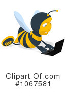 Bee Clipart #1067581 by Julos