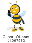 Bee Clipart #1067582 by Julos