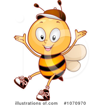 Bee Clipart #1070970 by BNP Design Studio