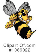Royalty-Free (RF) Bee Clipart Illustration #1089022
