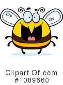 Royalty-Free (RF) Bee Clipart Illustration #1089660