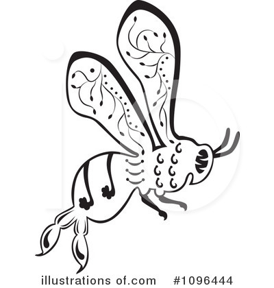 Bee Clipart #1096444 by Cherie Reve