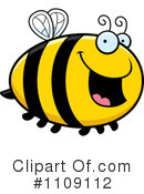 Royalty-Free (RF) Bee Clipart Illustration #1109112