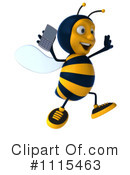 Bee Clipart #1115463 by Julos