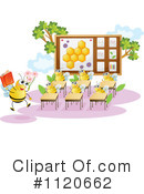 Royalty-Free (RF) Bee Clipart Illustration #1120662