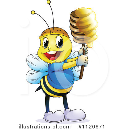 Bee Clipart #1120671 by Graphics RF