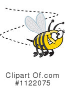 Royalty-Free (RF) Bee Clipart Illustration #1122075
