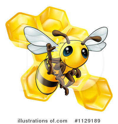 Honey Clipart #1129189 by AtStockIllustration