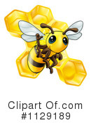 Bee Clipart #1129189 by AtStockIllustration