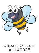 Royalty-Free (RF) Bee Clipart Illustration #1149035