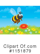 Bee Clipart #1151879 by Alex Bannykh