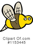 Bee Clipart #1153445 by lineartestpilot