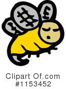 Bee Clipart #1153452 by lineartestpilot