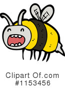 Bee Clipart #1153456 by lineartestpilot