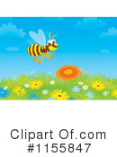 Bee Clipart #1155847 by Alex Bannykh