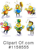 Bee Clipart #1158555 by Graphics RF