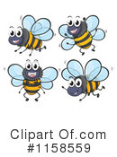 Bee Clipart #1158559 by Graphics RF