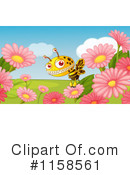 Bee Clipart #1158561 by Graphics RF