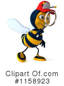 Bee Clipart #1158923 by Julos