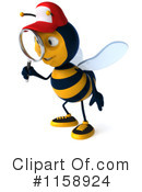 Bee Clipart #1158924 by Julos