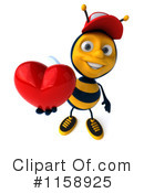 Bee Clipart #1158925 by Julos