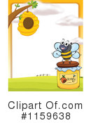 Bee Clipart #1159638 by Graphics RF