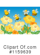 Bee Clipart #1159639 by Graphics RF