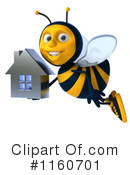 Bee Clipart #1160701 by Julos