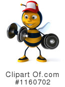 Bee Clipart #1160702 by Julos