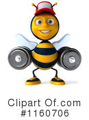 Bee Clipart #1160706 by Julos