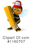 Bee Clipart #1160707 by Julos